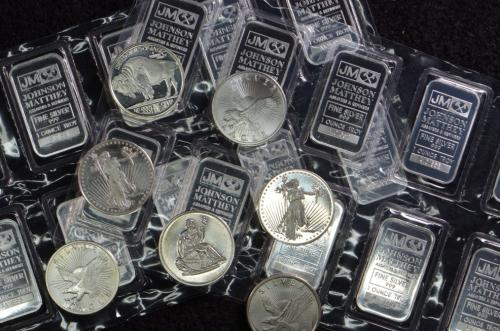 Silver Coins and Bars Online